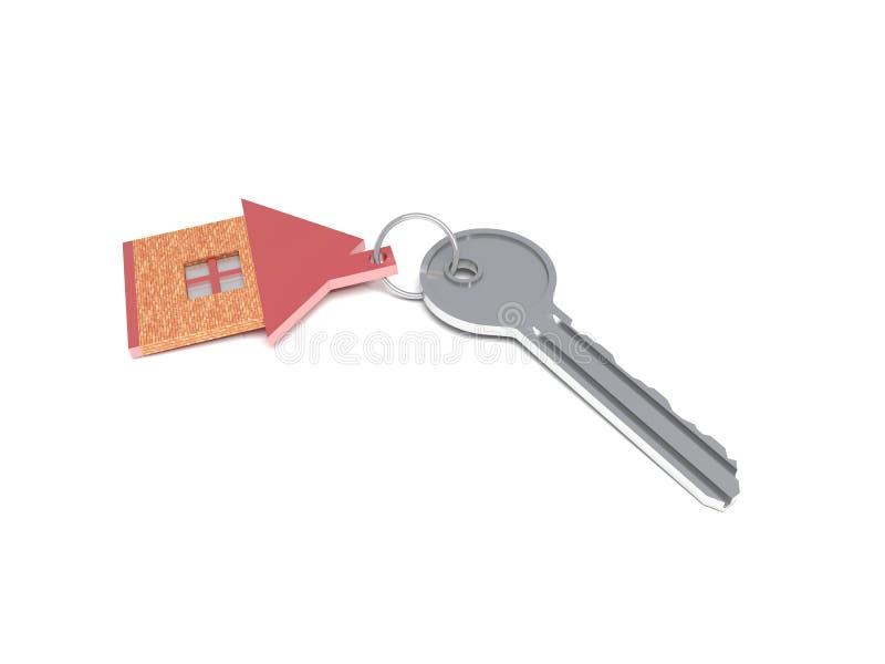 有钥匙的议院 向量例证
