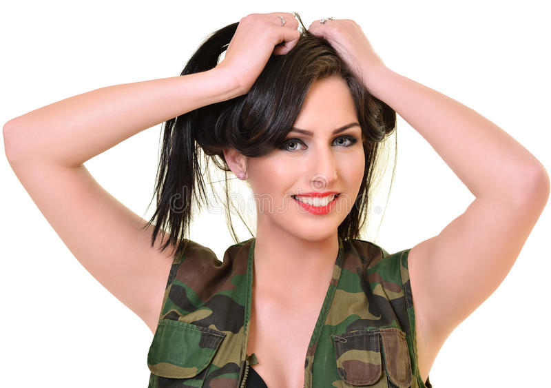 图片 包括有 女孩, 表面, 战斗, 盖帽, 投反对票, 防御, 发型 - 5218图片