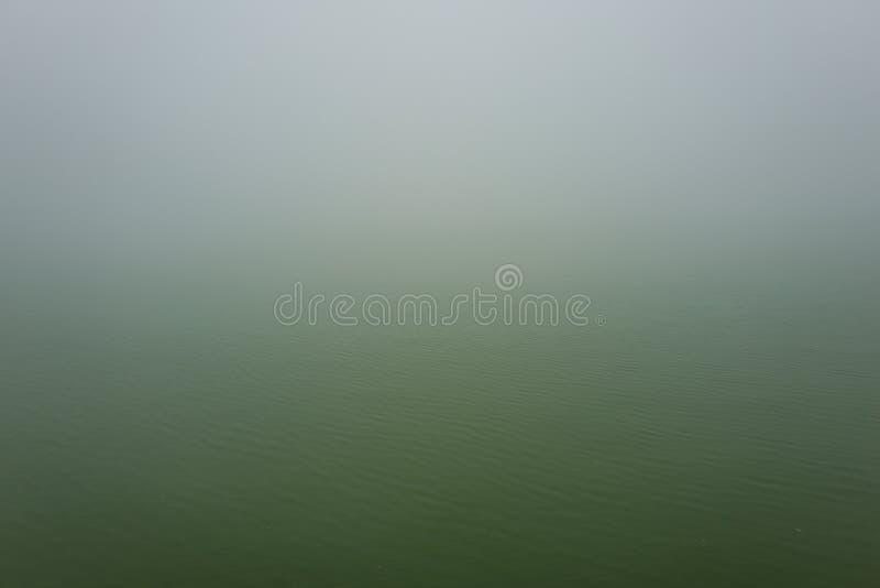 有雾的风景在Sapa,越南 免版税库存照片