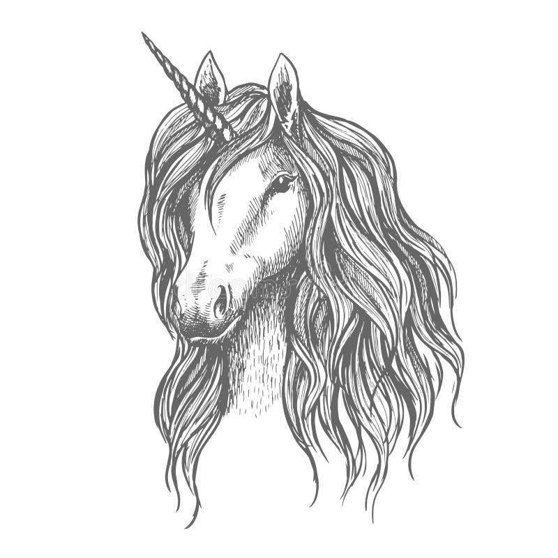导航神话马头的标志有垫铁的,体育徽章的,纹章学纹身花刺波浪鬃毛