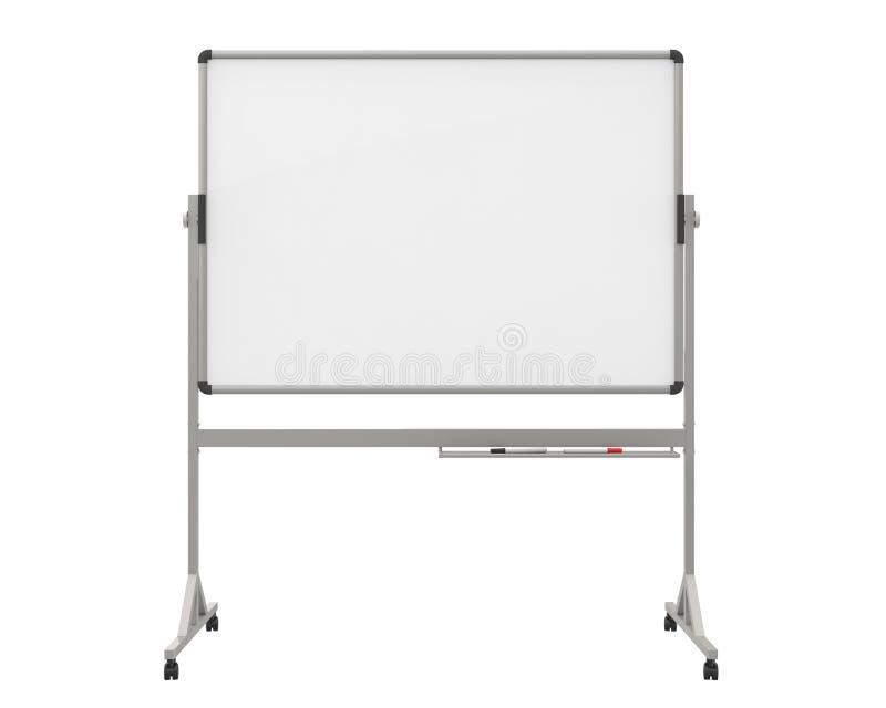 空白的Whiteboard 向量例证