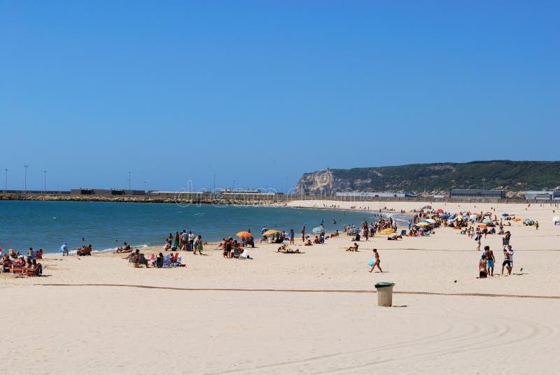 有须海滩,西班牙 图库摄影