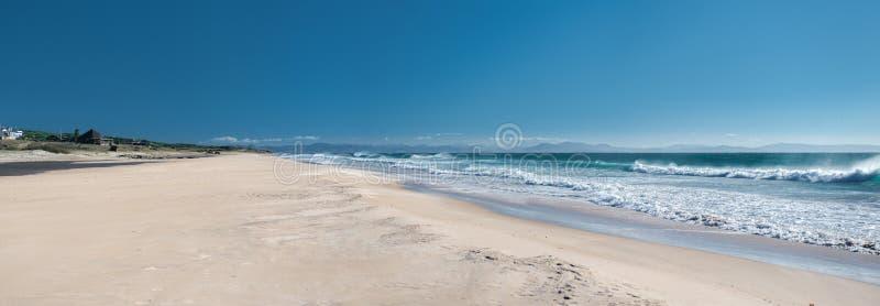 有须海滩 免版税库存照片