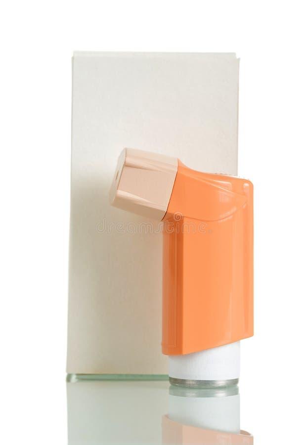 有batcher的便携式的吸入器 免版税库存图片