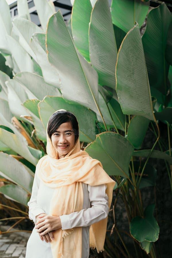 有hijab的回教妇女 库存图片