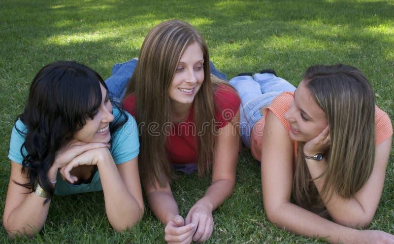 朋友妇女 免版税库存照片