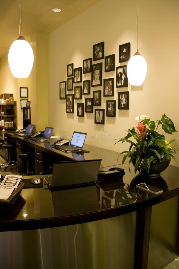 服务台办公室 库存照片