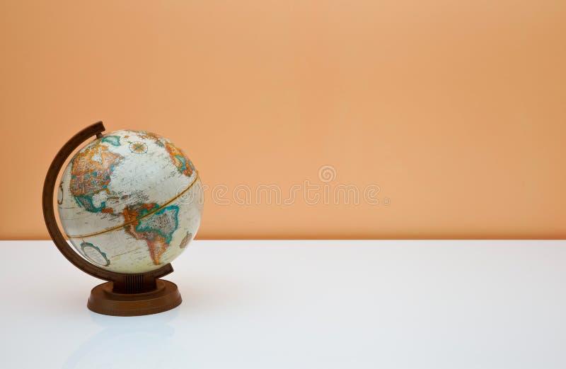 服务台地球学员 免版税库存图片