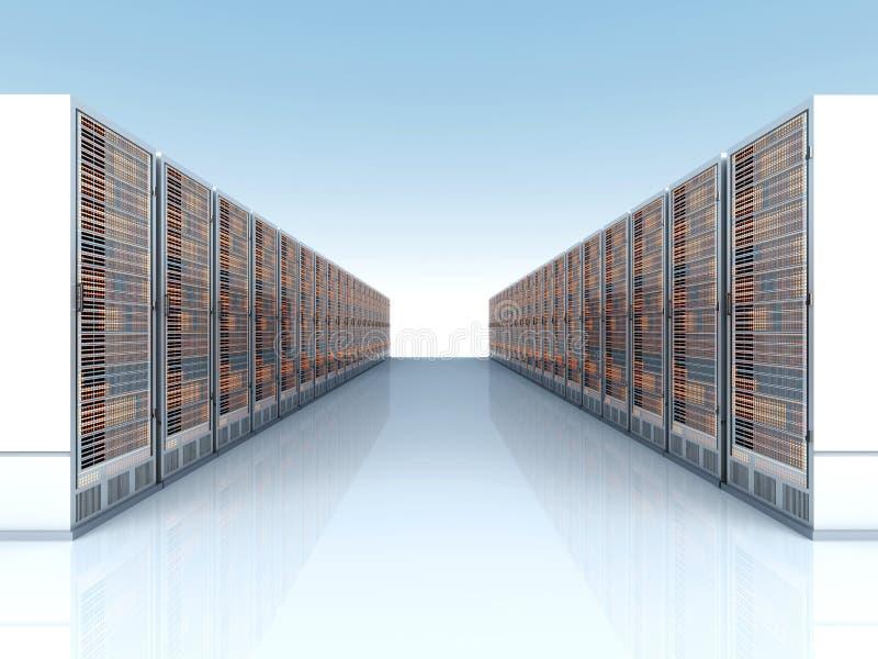 服务器云彩 向量例证