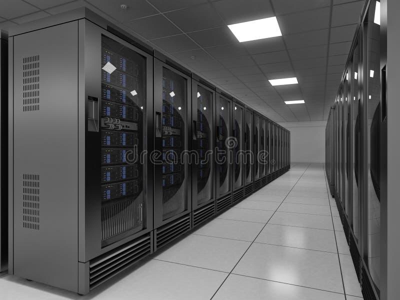 服务器空间 库存例证