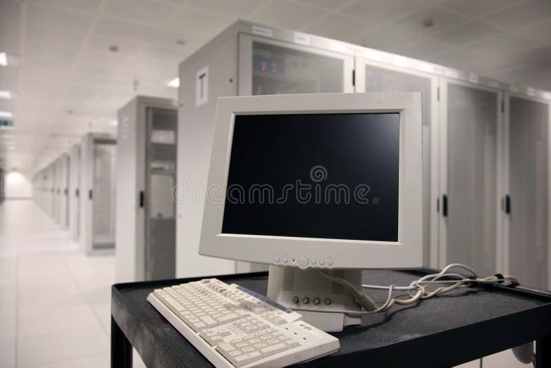 服务器终端 免版税库存照片