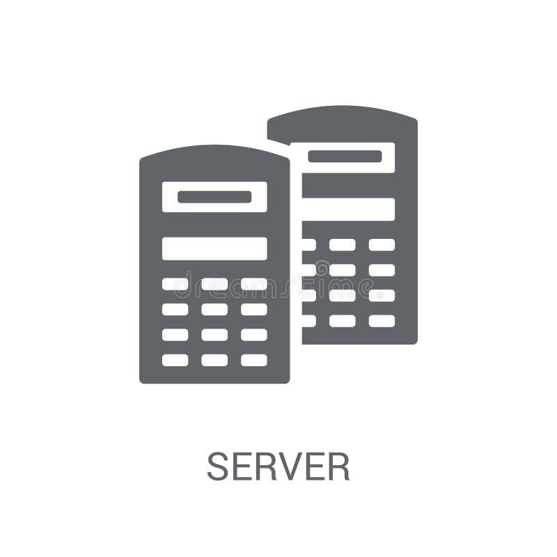 服务器象  库存例证