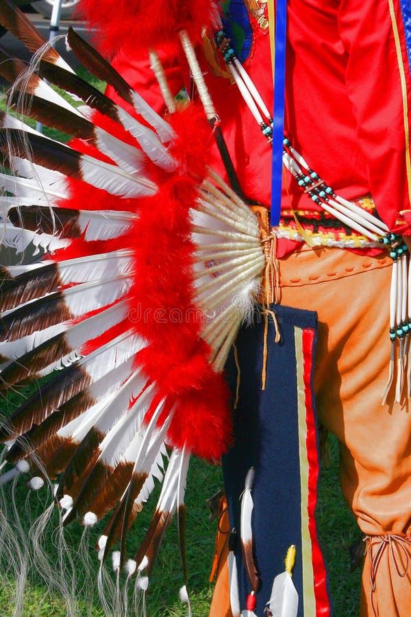 服装印第安部族 库存图片