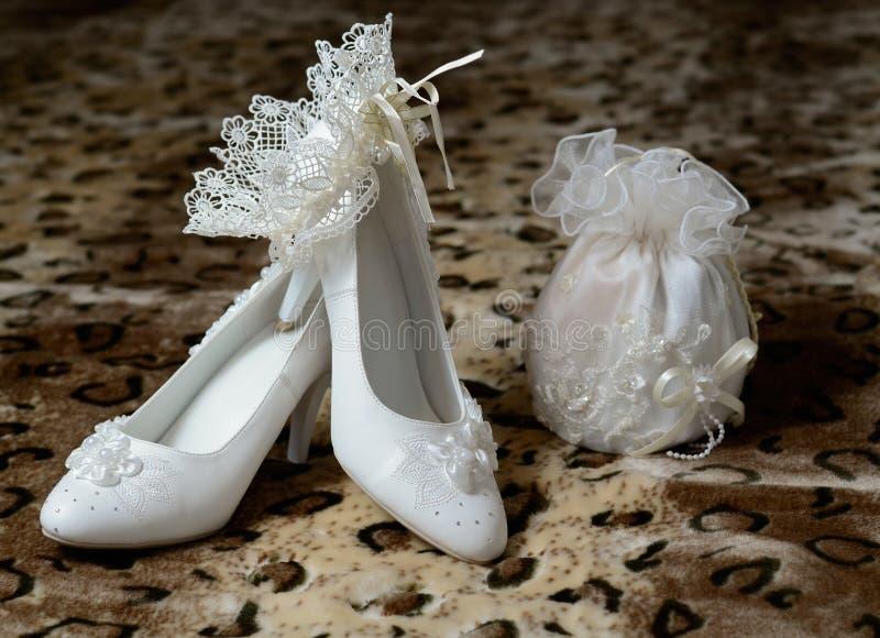 服装婚礼 免版税库存图片