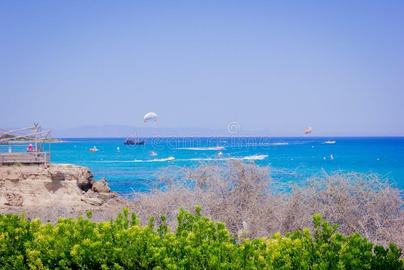 晴朗的塞浦路斯 图库摄影