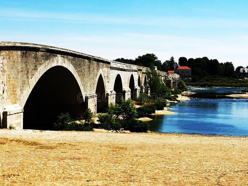 晴朗的桥梁 免版税库存图片
