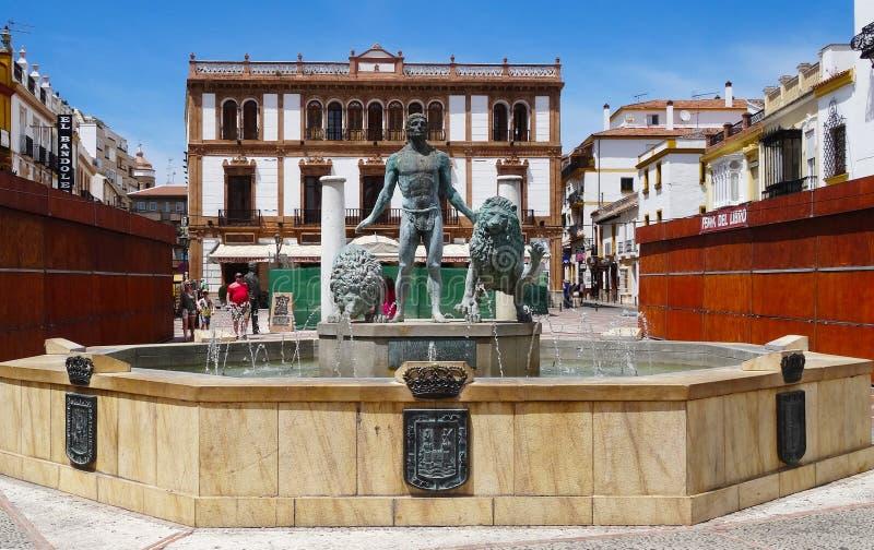 朗达老镇,安大路西亚,西班牙 库存照片