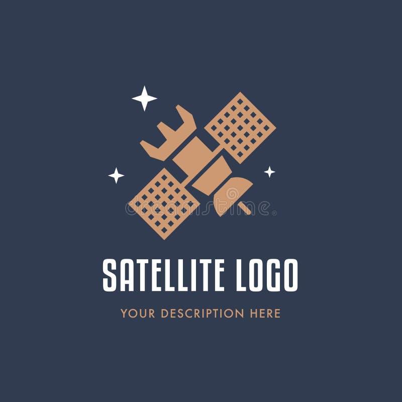 望远镜商标拷贝 向量例证