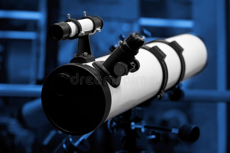 望远镜 免版税库存图片