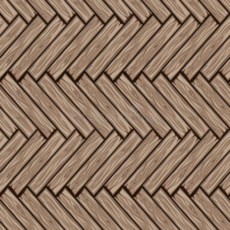 木人字形地垫样式 无缝的纹理木木条地板板 比赛的用户界面的传染媒介例证 向量例证