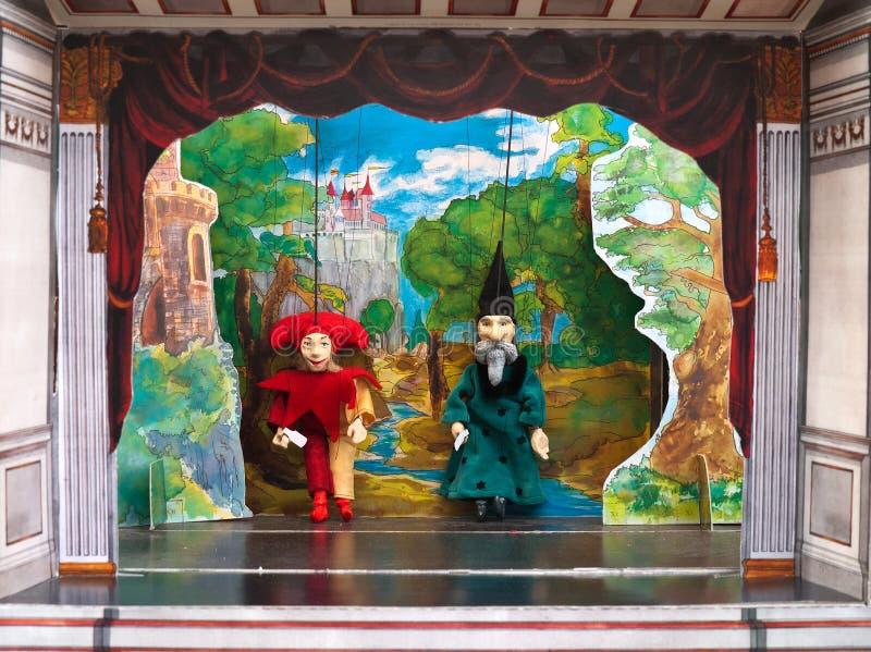 木偶剧院 库存图片