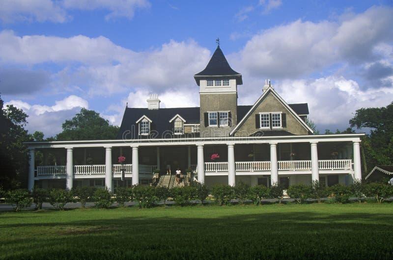 木兰种植园和庭院,最旧的公园在美国,查尔斯顿, SC 库存照片