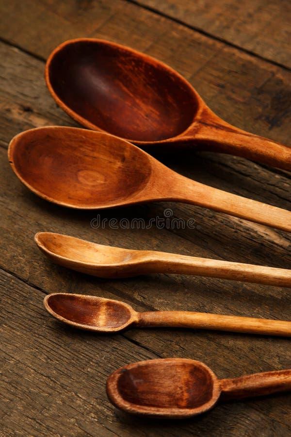 木匙子器物 库存图片