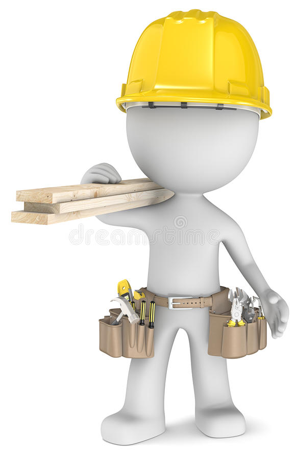 木匠。 向量例证