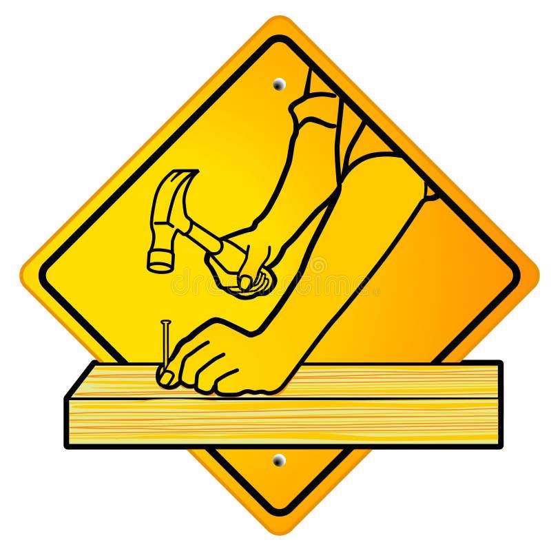 木匠符号 向量例证