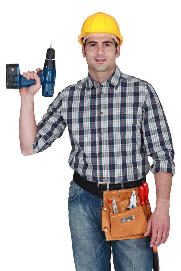 木匠藏品查询 免版税库存照片