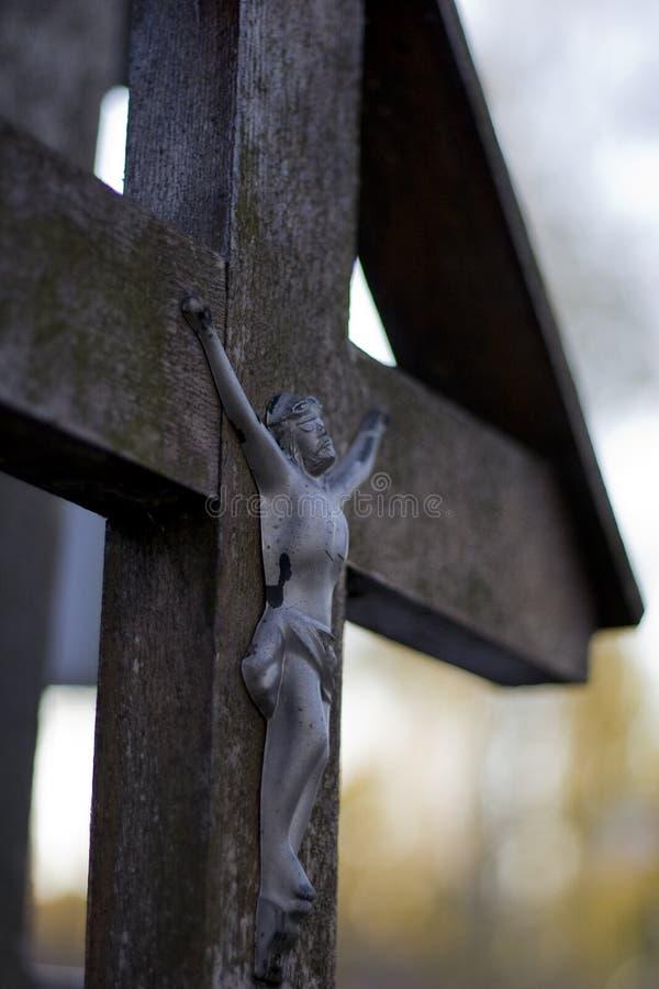 木十字架 库存图片
