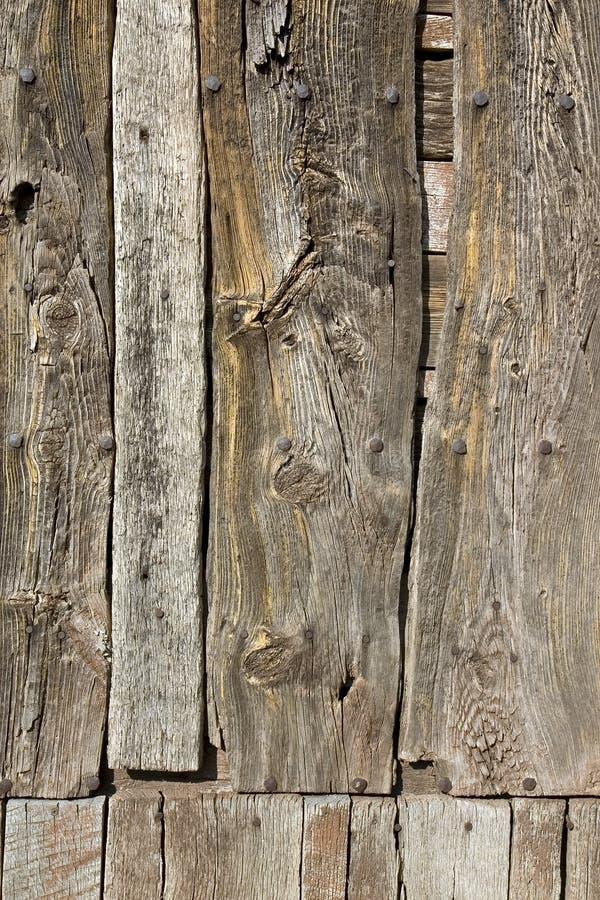 木变老的墙壁 库存照片