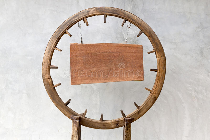 木圈子板 免版税库存图片