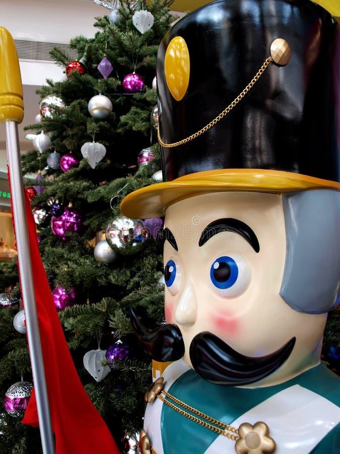 木圣诞节的胡桃钳 库存照片
