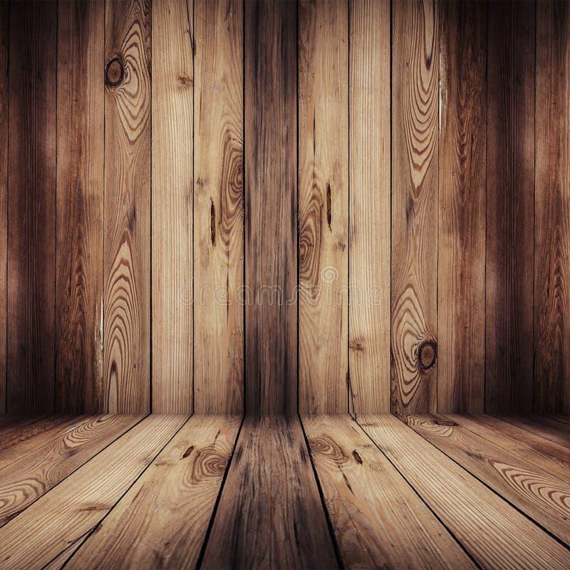 木地板和背景 库存照片