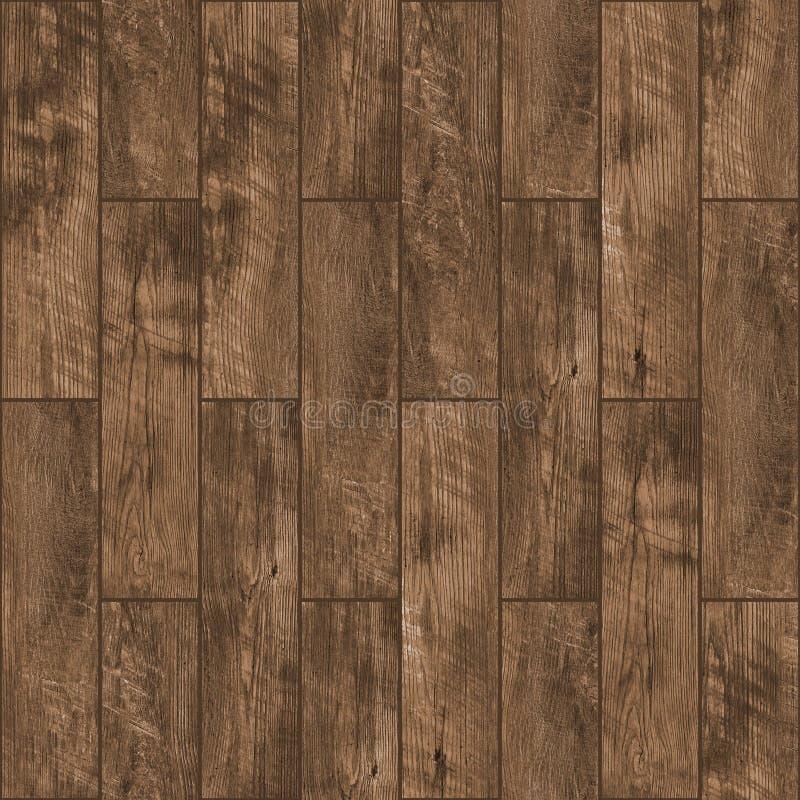 木地板无缝的纹理  库存图片