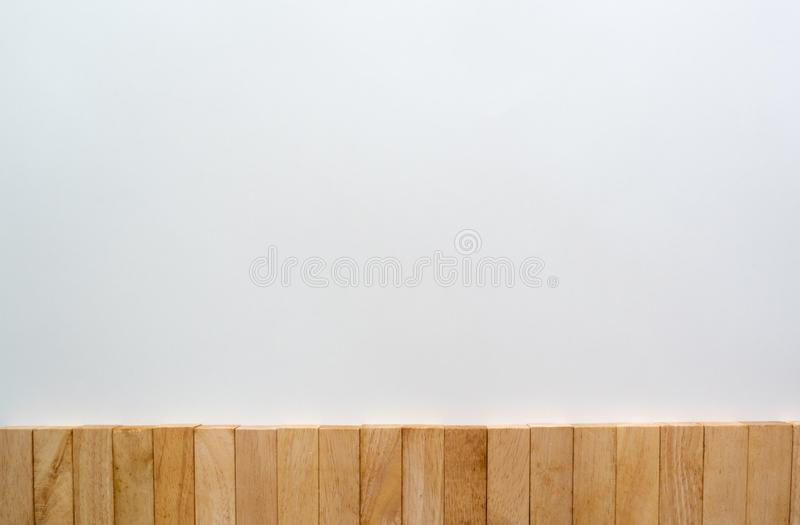 木块墙壁拷贝空间 免版税库存照片