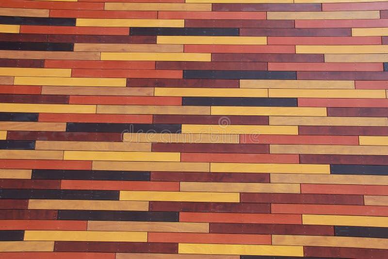 木墙壁模式 库存照片