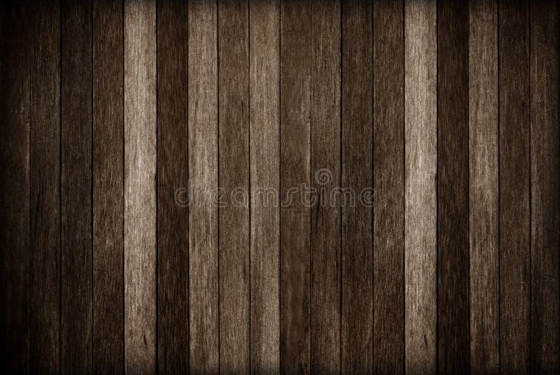木墙壁纹理背景;黑暗的老木背景 免版税图库摄影