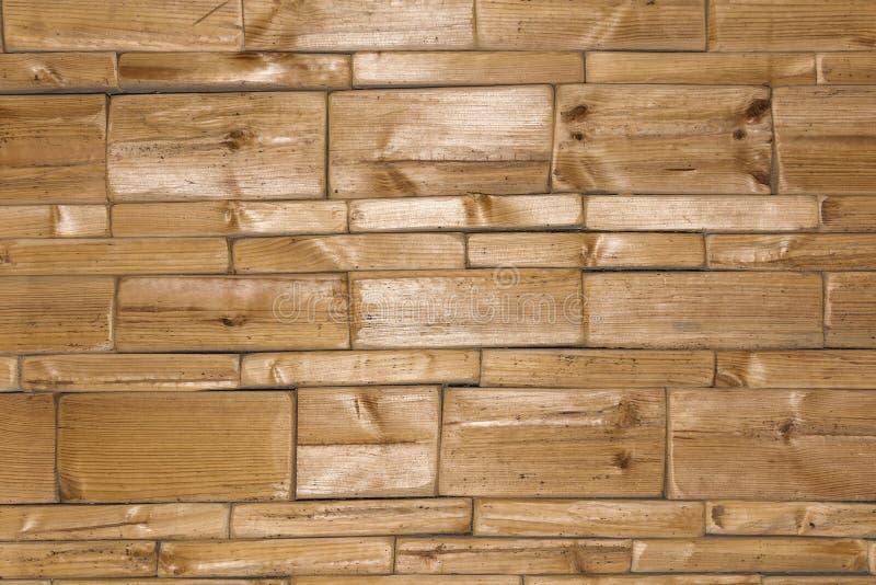 木墙壁背景或纹理 自然样式木头背景 库存图片