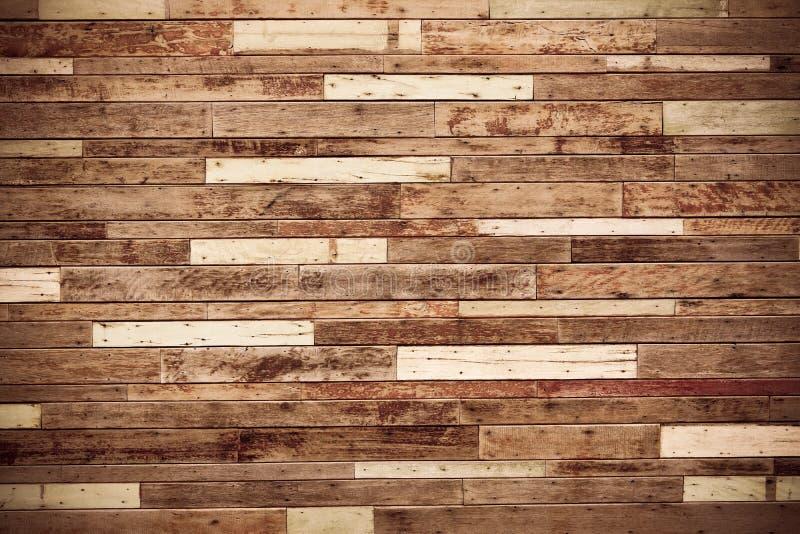 木墙壁 免版税库存照片