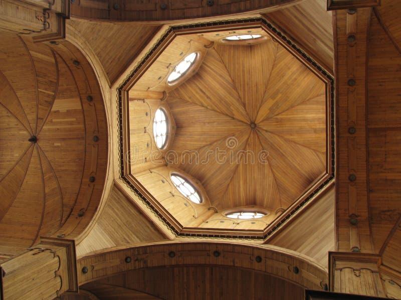 木大教堂 库存图片