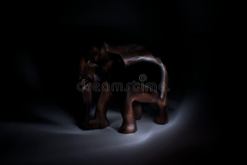 木大象 免版税库存图片