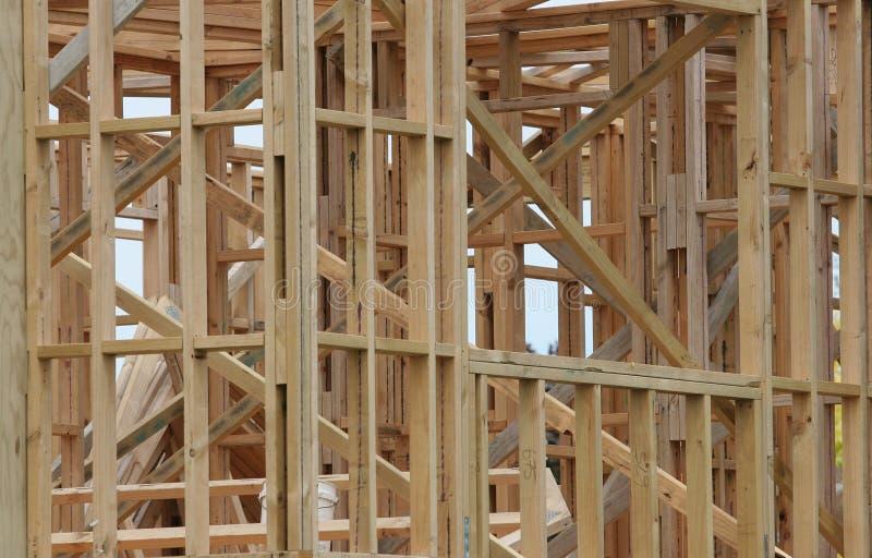 木屋木材 库存照片