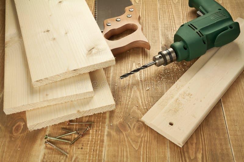 木工作 免版税库存图片