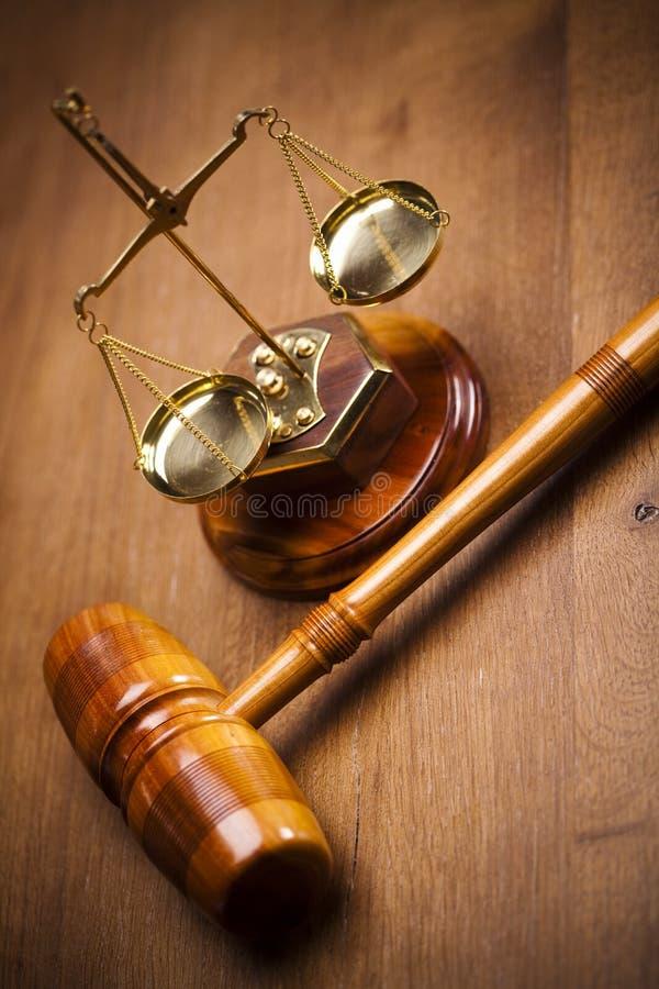木律师的惊堂木 免版税库存图片