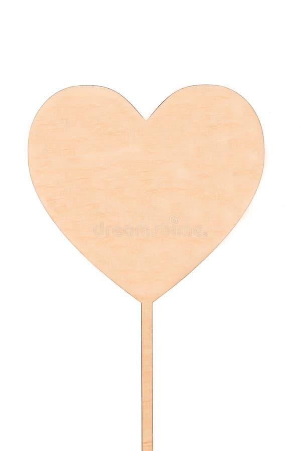 木心脏,隔离 免版税库存照片
