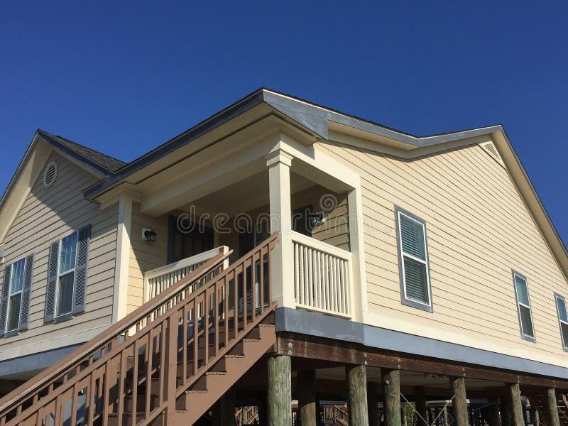 木房子在郊区路易斯安那图片