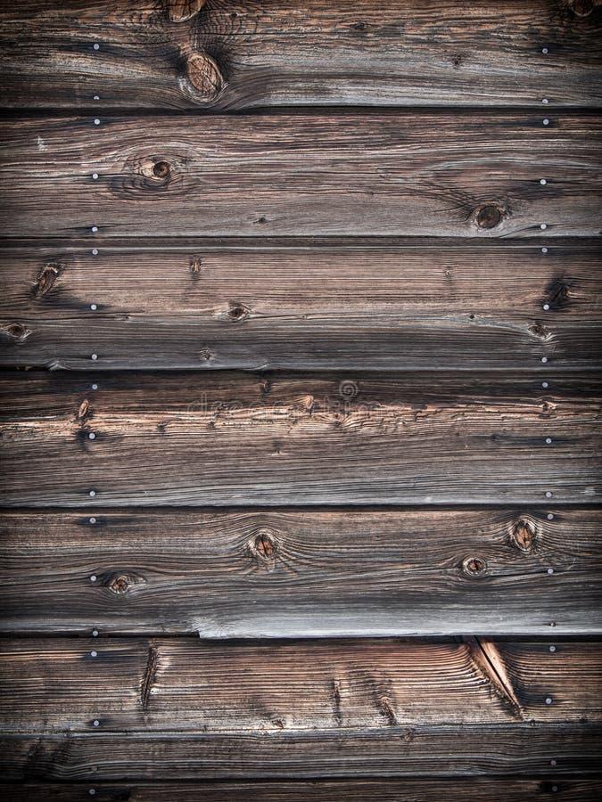 木房屋板壁背景 图库摄影