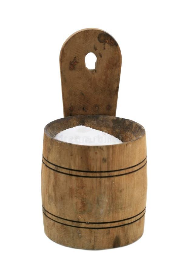 木手工制造的桶 图库摄影